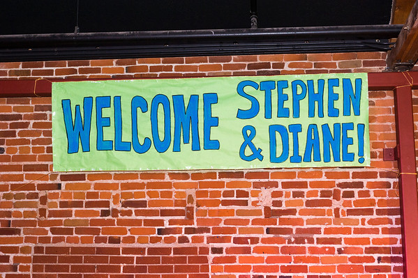 Welcome to Stephen & Diane Murray - First Sunday