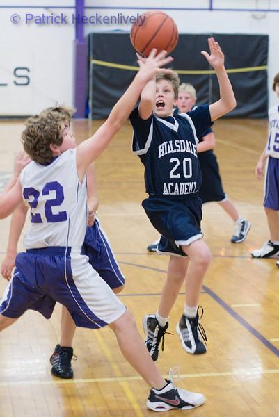 2010-12-01 Boys 7th & 8th Grade Basketball