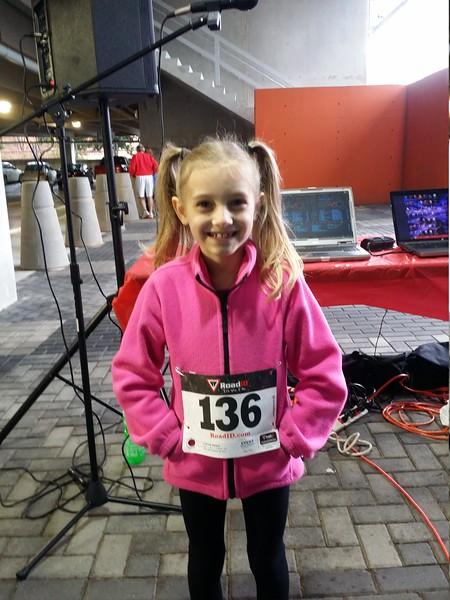Jingle Bell Run 5k  12/6/2014