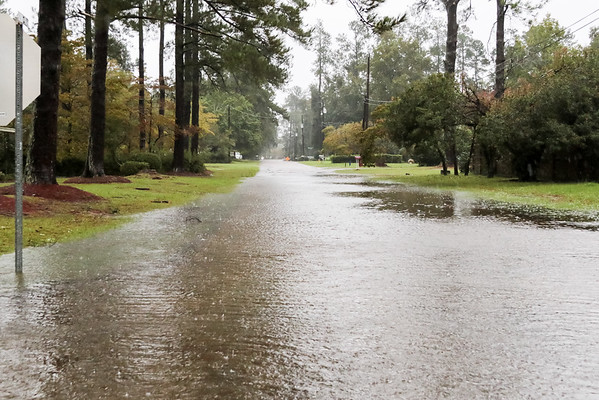 flooding in Holly Hill, SC