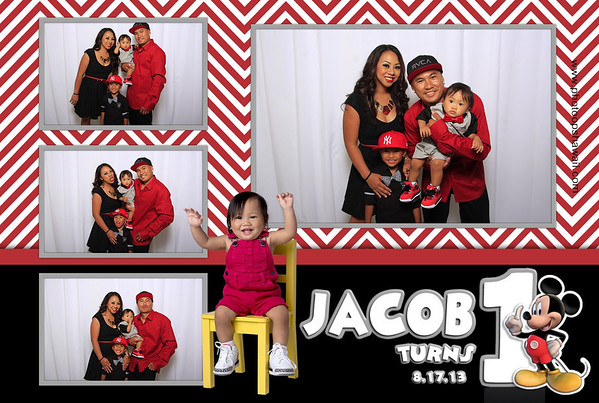 Jacob's 1st Birthday (Fusion Portraits)