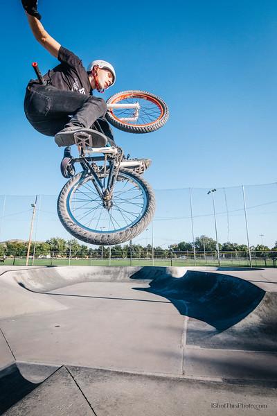 Sean on BMX