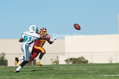 2014 BHS Aztec JV Football September 18
