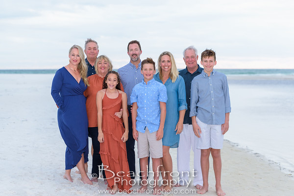 The Minton Family - Family Beach Pictures in Santa Rosa Beach.