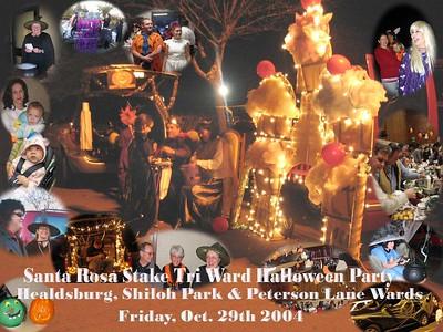 Santa Rosa Tri Ward Halloween Party - Oct. 29, 2004