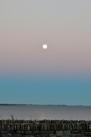 Moon Over Newport