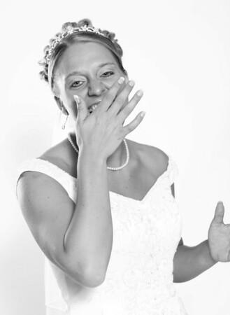 2008 July - Emily's Bridal Photos - B&W