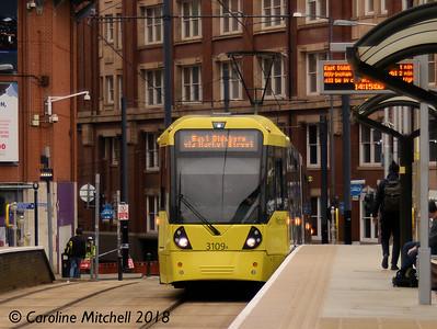Manchester Metrolink 2018
