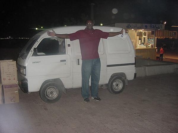 Milton and van.JPG