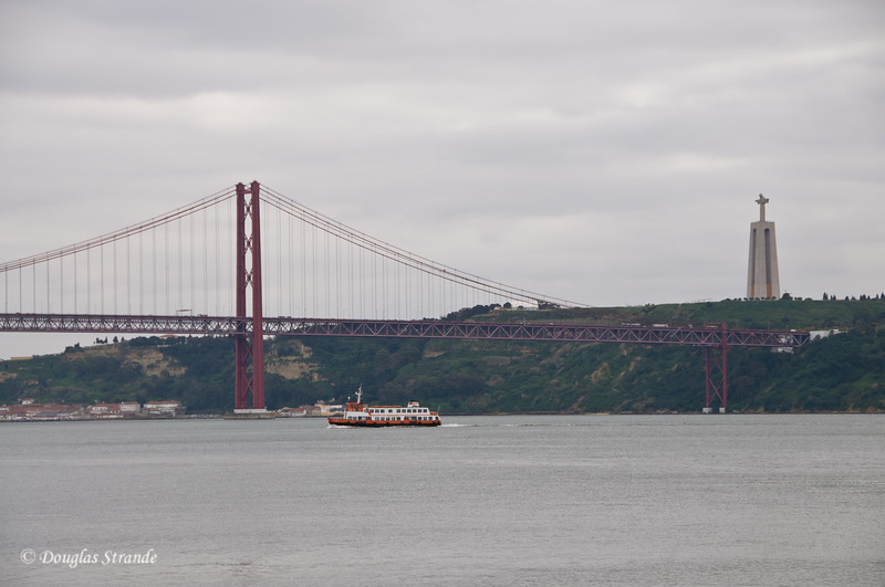 Thur 3/17 in Lisbon: Looking across the river