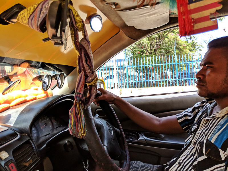 Travel to East Timor - taxi driver