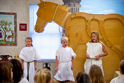 Third Grade Trojan War Play-October 27, 2010