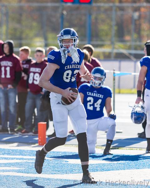 2016-11-12 Hillsdale College Men's Football vs. Lake Erie - Senior Day