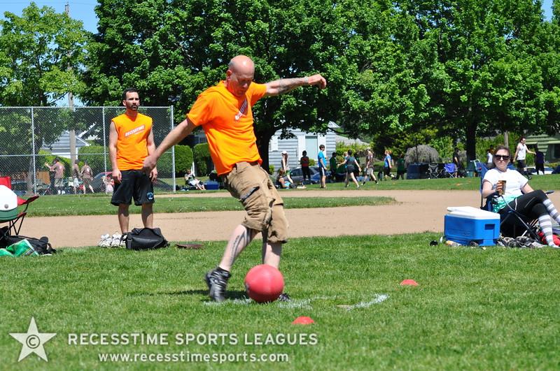 Recesstime Sports Leagues Portland Kickball Spring 2013 Dodgeball Bowling Ping Pong Mushball - 067