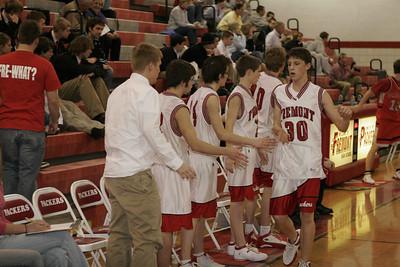 Boys JV Basketball - 2/21/2006 Spring Lake