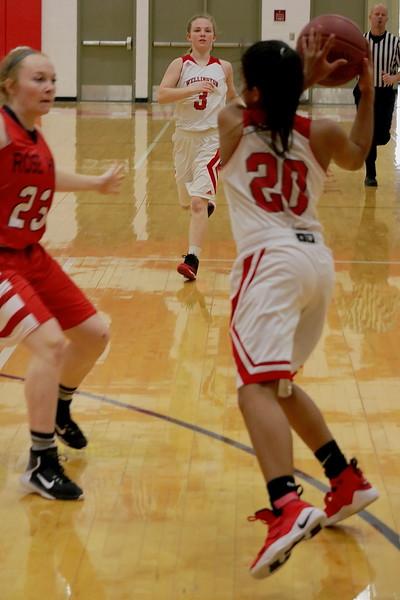WHS GIRLS BASKETBALL vs Rose Hill  021318