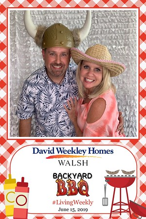 David Weekley Homes Backyard BBQ
