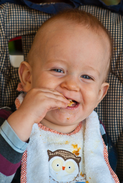 Gavin Likes Graham Crackers!