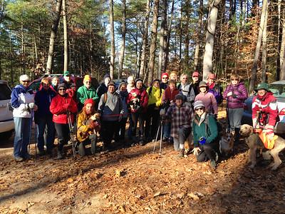 November 15 Saturday Hike
