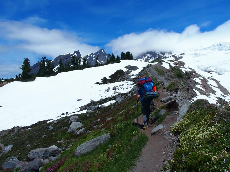 Following the ridge..