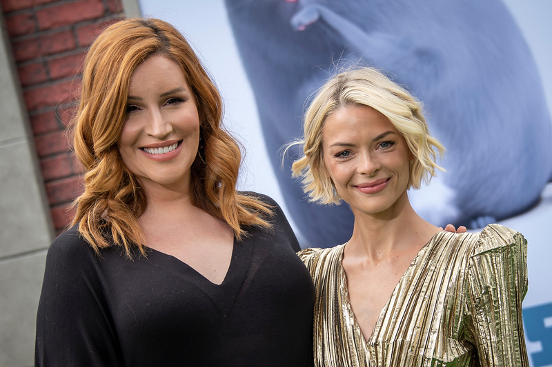 WESTWOOD, CALIFORNIA - JUNE 02: Our Lady J and Jaime King attend the Premiere of Universal Pictures' 'The Secret Life Of Pets 2' at Regency Village Theatre on Sunday, June 02, 2019 in Westwood, California. (Photo by Tom Sorensen/Moovieboy Pictures)