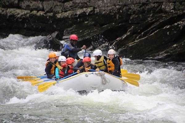 2018-09 Juniorgruppen rafting på Voss