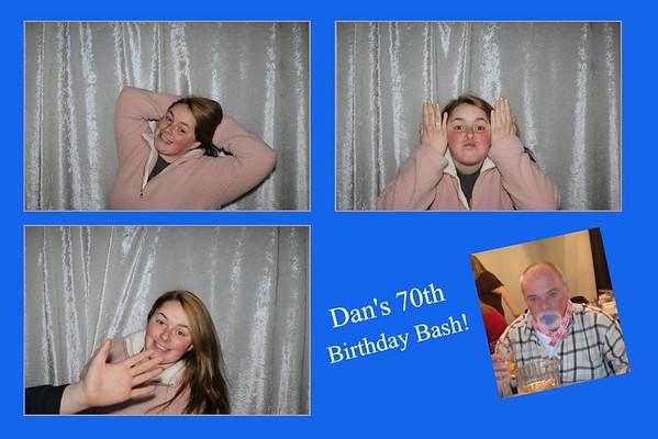 Bates 70th Birthday Party