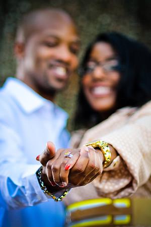 Cortnie & Rasheed's Edited Engagement Session Pix