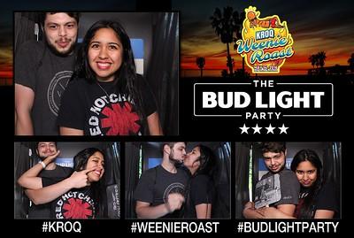 Bud Light Voting Booth KROQ Weenie Roast