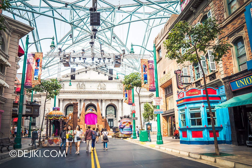 Universal Studios Singapore - Halloween Horror Nights 6 Before Dark Day Photo Report 3 - March of the Dead scare zone / overview 2