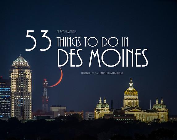 53 favorites Des Moines Book