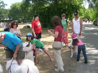 Green Lake Dog Walk - July 5, 2009