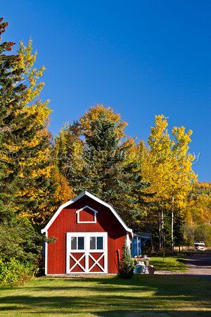 Gunflint Trail Scenic Byway in Autumn
