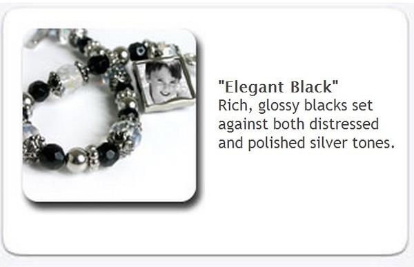 Toggle Bracelet - Elegant black - $35