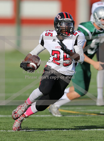 Lincoln High vs Lincoln Southwest 10/9/2015