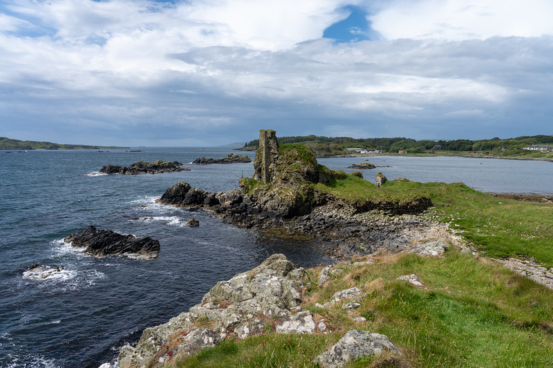 Ruins of Dunyvaig Castle on Islay