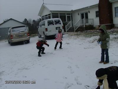 Snow - Jan 2009