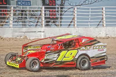 Super DIRT Week 358 Modified and Sportsman Practice Paul Murphy Photos