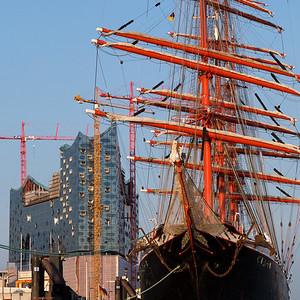 2013 07 05 die Elbe bei Hamburg