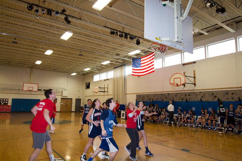 8th Grade vs. Faculty/Staff: Basketball