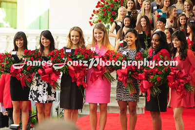 2011 Rose Court Announcement
