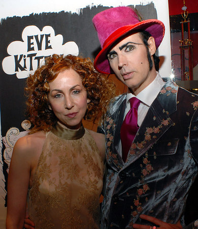 Patrick McDonald & Patricia Field Host the Launch of the World of EVE KITTEN for artist Nancy Bacich