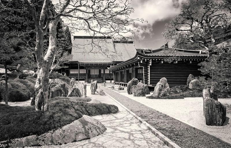 Rock garden at Koyasan.