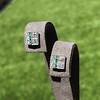 Art Deco Diamond and Emerald Disc Earrings 9