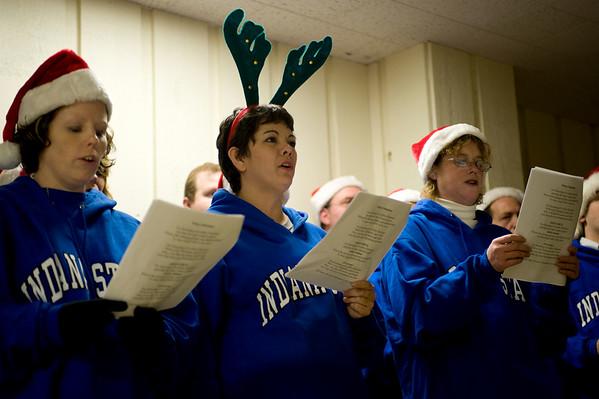 Support Staff Carol Singers