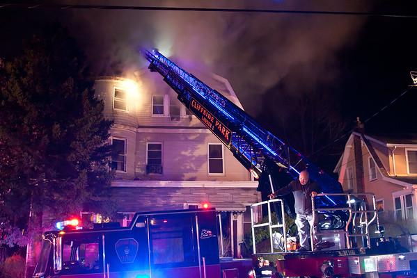 Cliffside Pk NJ 3rd alarm, 40 Oakdene Ave. 04-21-15