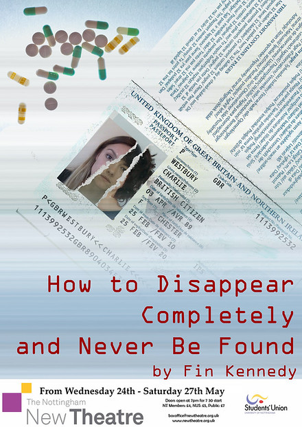 How to Disappear Completely and Never Be Found poster