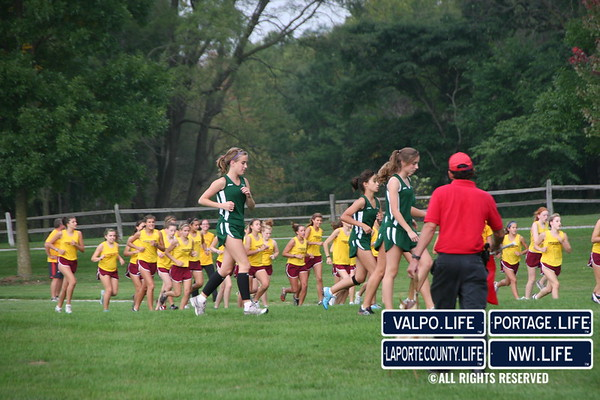 VHS Girls Cross Country vs Chesterton 2009