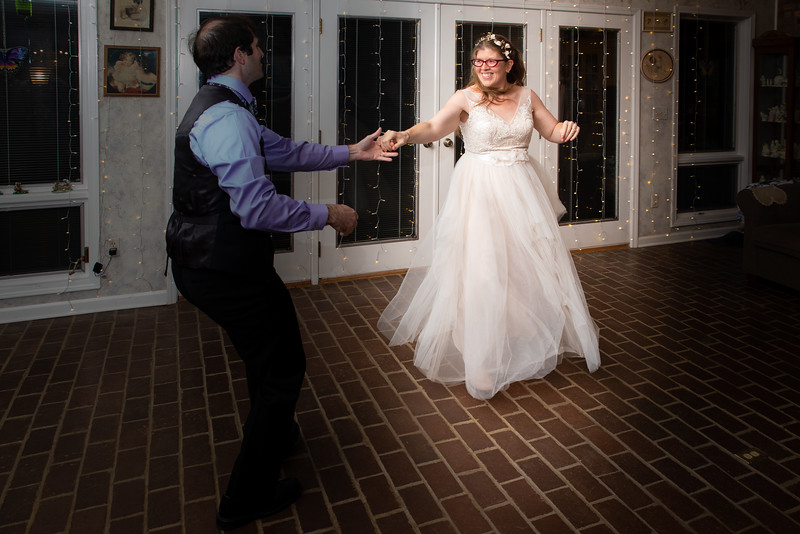 The First (and second) Dance (color)