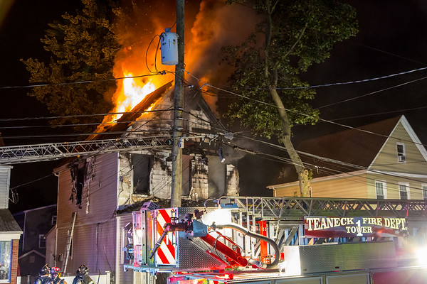 Teaneck NJ Fatal 3rd alarm, 1161 Arlington Ave. 07-08-21